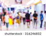 abstract blurred people... | Shutterstock . vector #316246832