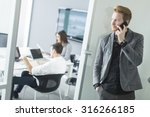 young people in the office | Shutterstock . vector #316266185