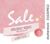 light pink sale background | Shutterstock .eps vector #316269812