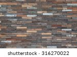 wood material background for... | Shutterstock . vector #316270022