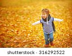 happy child playing pilot... | Shutterstock . vector #316292522