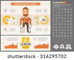 medicine infographic template... | Shutterstock .eps vector #316295702