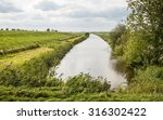 Dutch Rural Landscape On A...