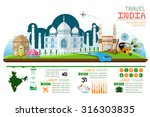info graphics travel and... | Shutterstock .eps vector #316303835