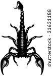 Scorpione Velenoso grafiche vettore gratis Scorpione Velenoso ...