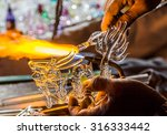 Handicraft From Glass Blowing...