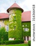 thorens castle in france  haute ... | Shutterstock . vector #316366418