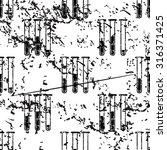 test tubes pattern  grunge ...