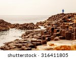 landscape of giant's causeway... | Shutterstock . vector #316411805
