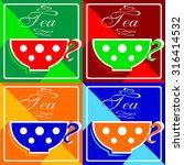 tea | Shutterstock .eps vector #316414532