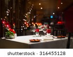 Romantic Dinner Setup  Red...