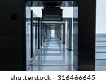 urban geometry  looking up to... | Shutterstock . vector #316466645