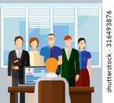 curriculum vitae recruitment...   Shutterstock .eps vector #316493876