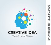 creative idea logo template | Shutterstock .eps vector #316502408