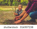 when will it grow  curious... | Shutterstock . vector #316507238