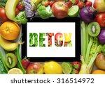 detox plan  | Shutterstock . vector #316514972