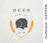 beer and brewing. beer festival ...   Shutterstock .eps vector #316535348