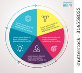 infographics  pie chart  graph  ... | Shutterstock .eps vector #316558022