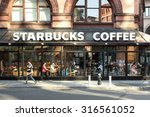 new york city   may 8  2015 ... | Shutterstock . vector #316561052