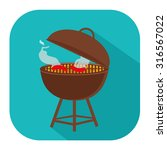 grill icon | Shutterstock .eps vector #316567022