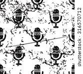 microphone pattern  grunge ...