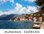 perast  montenegro   19 august... | Shutterstock . vector #316581302
