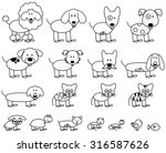 Vector Collection Of Cute Stic...