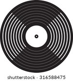vinyl record   Shutterstock .eps vector #316588475