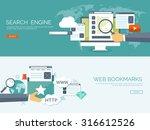 vector illustration. flat... | Shutterstock .eps vector #316612526