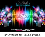 disco flyer template for music...
