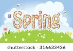 Colorful Spring Design With...