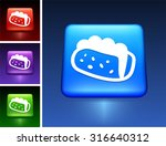 taco sandwich on blue square... | Shutterstock .eps vector #316640312