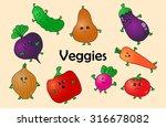 cartoon vector illustration of...   Shutterstock .eps vector #316678082