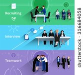 human resources personnel...   Shutterstock .eps vector #316684058