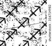 sagittarius pattern  grunge ...