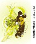 fresh perspective woman dancing ... | Shutterstock .eps vector #3167353
