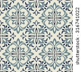 Seamless Vintage Pattern In...