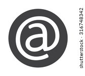email symbol icon | Shutterstock .eps vector #316748342