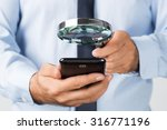 close up of young businessman... | Shutterstock . vector #316771196