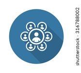 Teamwork Icon. Business Concep...