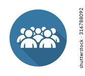 focus group icon. business... | Shutterstock .eps vector #316788092