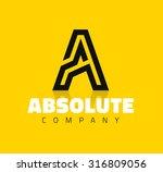 vector graphic creative line... | Shutterstock .eps vector #316809056