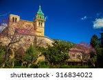 the building of charterhouse in ... | Shutterstock . vector #316834022