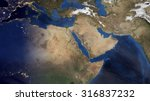 middle eastern morning space... | Shutterstock . vector #316837232