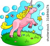 unicorn | Shutterstock . vector #316846676