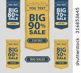 big sale best offer badge ... | Shutterstock .eps vector #316853645