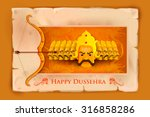 vector illustration of ravana... | Shutterstock .eps vector #316858286