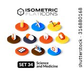 isometric flat icons  3d... | Shutterstock .eps vector #316880168