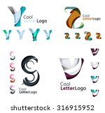 letter business emblems  icon... | Shutterstock .eps vector #316915952