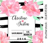 Save The Date And Wedding...